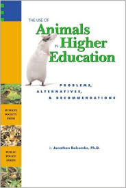 The Use Of Animals In Higher Education Book Cover